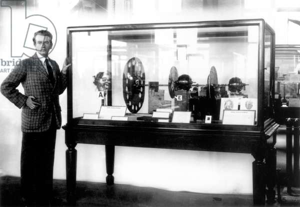 John Logie Baird Scottish inventor of the first tv which he presented to the Science Museum in 1926