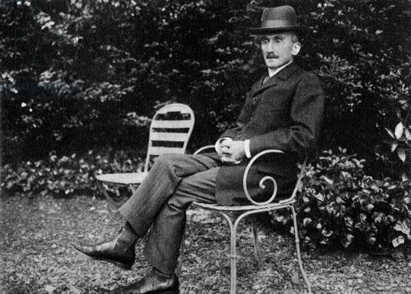 Henri Bergson (1859-1941) french philosopher, here c.1905