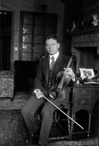 Efrem Zimbalist, Snr. (1889-1985) American violinist and composer c. 1925