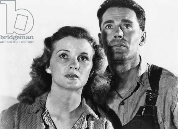 Les Raisins de la colere THE GRAPES OF WRATH de John Ford, d'apres un roman de John Steinbeck, avec Dorris Bowden, Henry Fonda, 1940