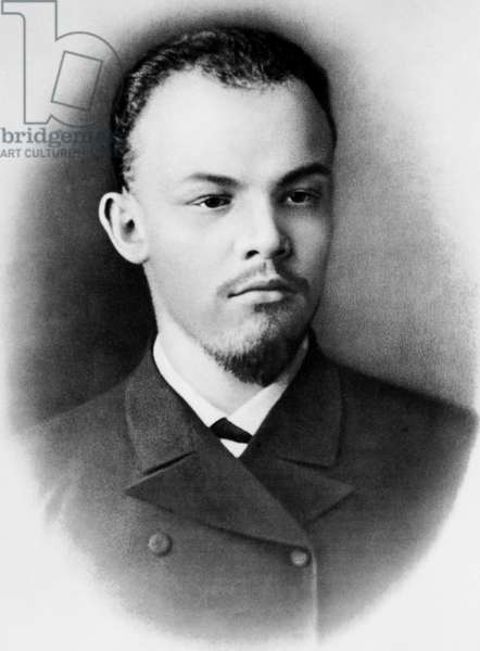 Vladimir Illitch Oulianov aka Lenin in Samara 1891