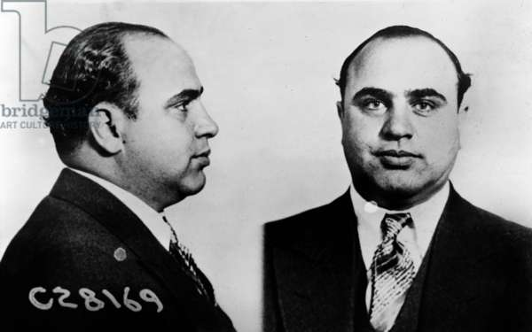 Al Capone (1899-1947), Prohibition era gangster boss in 1931 mug shot