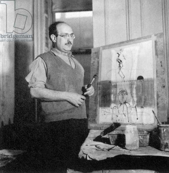 Mark Rothko (1903-1970) american painter c. 1944