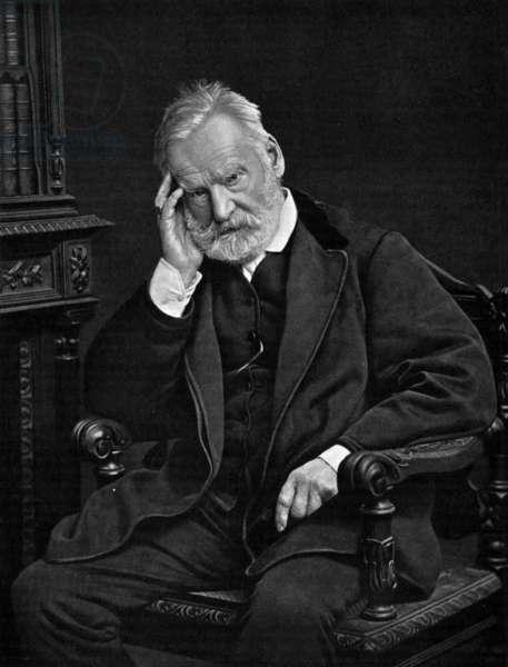 Victor Hugo (1802-1885) french writer, c. 1876