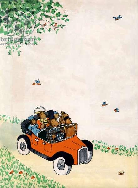 Illustration for child book