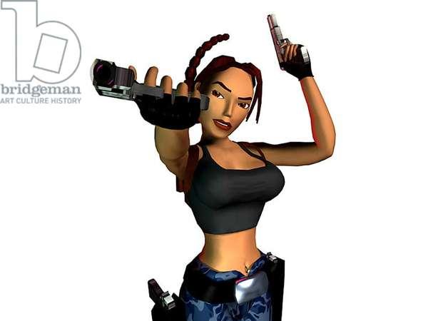 personnage de jeu vidéo Laura Croft, 2000