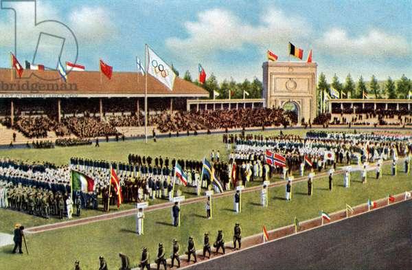 Olympic Games in Antwerp, Belgium, 1920
