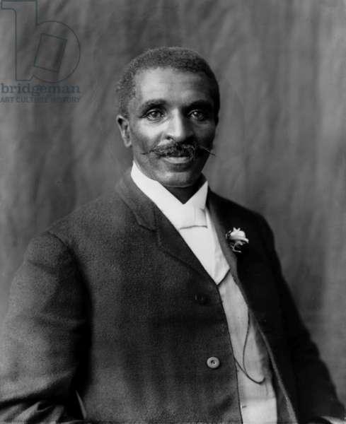 George Washington Carver, 1906 (b/w photo)