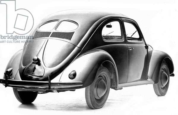 Volkswagen car (Beetle) in 1940