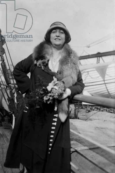 Margarete Matzenauer (1881-1963) romanian mezzo soprano, c. 1925
