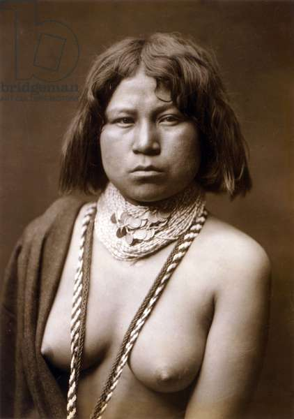 Judith, Mohave woman, c. 1903, photo Edward S. Curtis