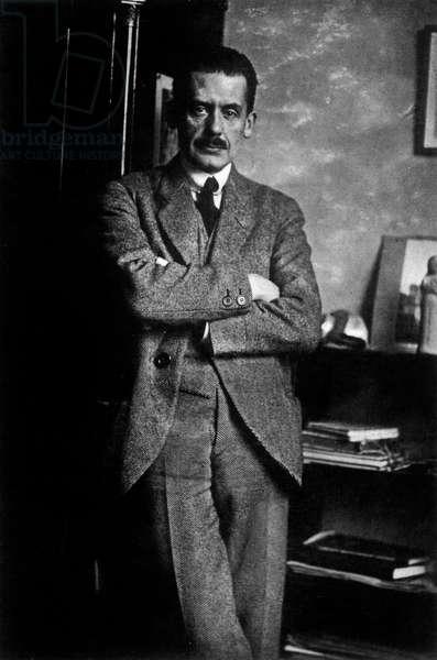Walter Gropius, 1920 (b/w photo)