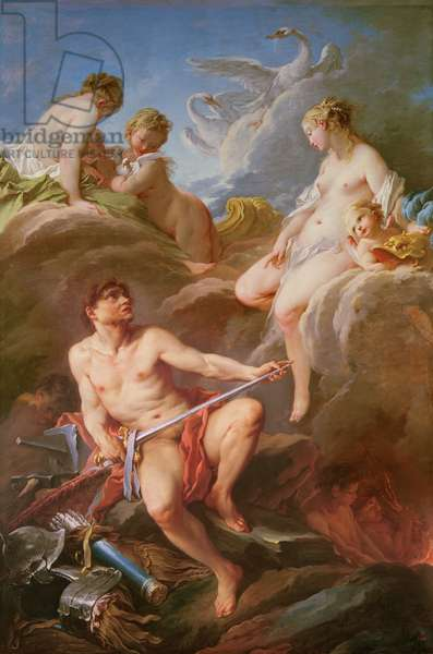 Venus Asking Vulcan for the Armour of Aeneas, 1732