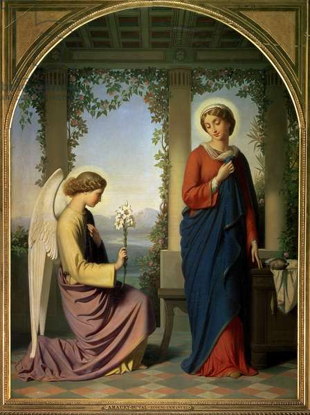 The Angelic Salutation, or The Annunciation, 1860