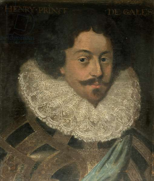 Henry (1594-1612), Prince of Wales (oil on canvas)