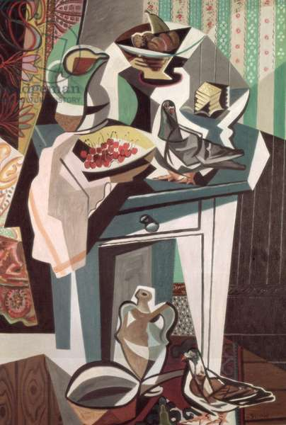 The Green Table, 1947 (oil on canvas)