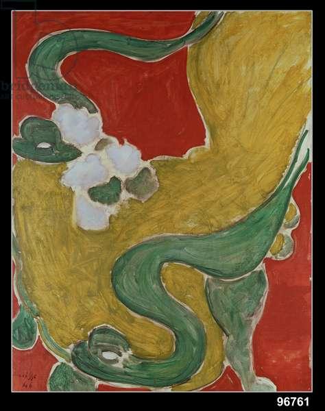 The Rocaille Armchair, 1946 (oil on canvas)