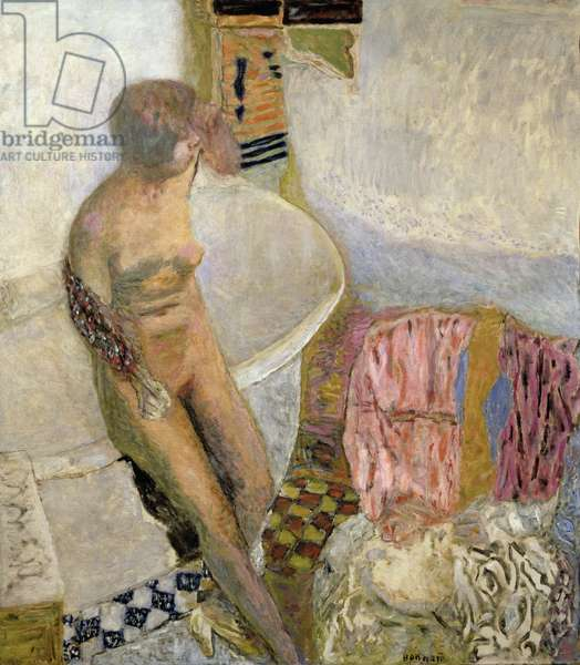 Nude by the Bath Tub, 1931 (oil on canvas)