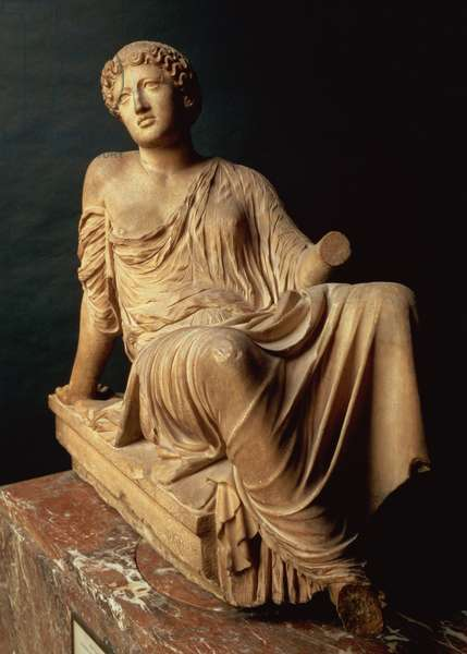 The Barberini Suppliant, Greek, c.470-440 BC (marble)