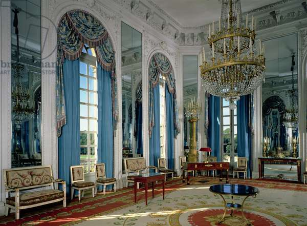 The Salon des Glaces (The Room of Mirrors) in the Grand Trianon, 1687, restored 1962-66 (photo)