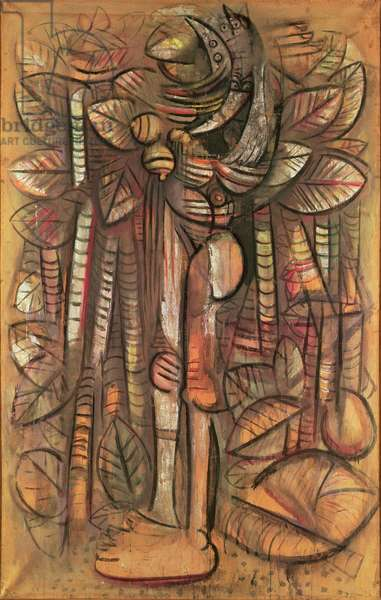 The Great Jungle or Light in the Forest, 1942 (canvas)