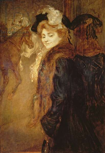 Woman in the Street, 1890 (oil on canvas)