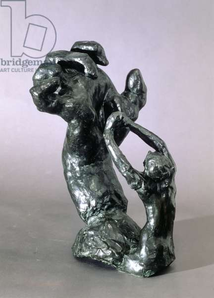 The clenched hand by Auguste Rodin (1840-1917) (bronze)