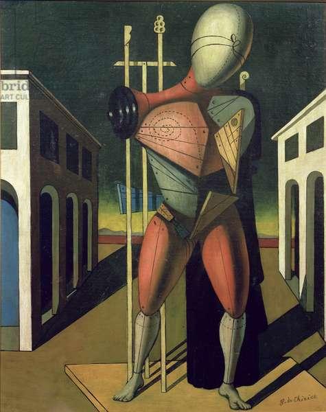 Troubadour, 1915-20 (oil on canvas)