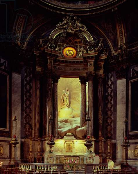 The Chapel of the Virgin, 1770's (photo)