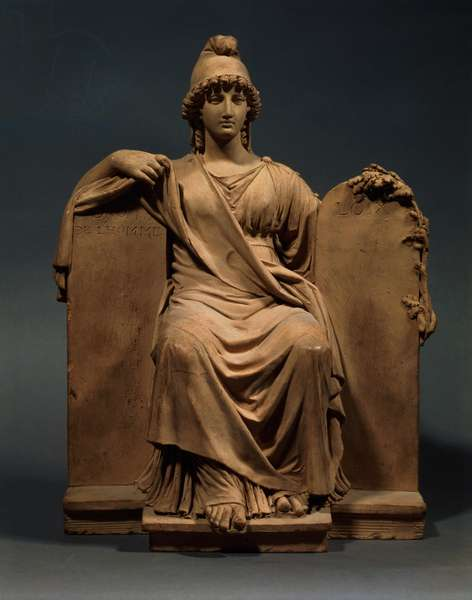The Republic by Joseph Chinard (1756-1813) (plaster)