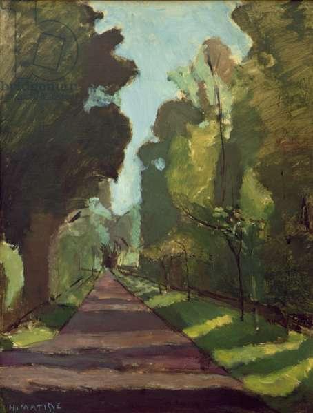 L'Allee de la Riviere, 1903 (oil on canvas)