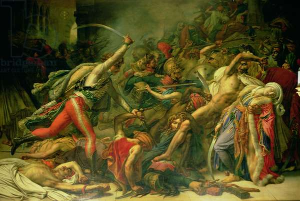 The Revolt at Cairo, 21st October 1798, 1810 (oil on canvas)