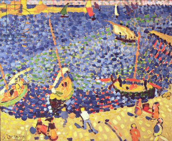 Boats at Collioure, 1905 (oil on canvas)