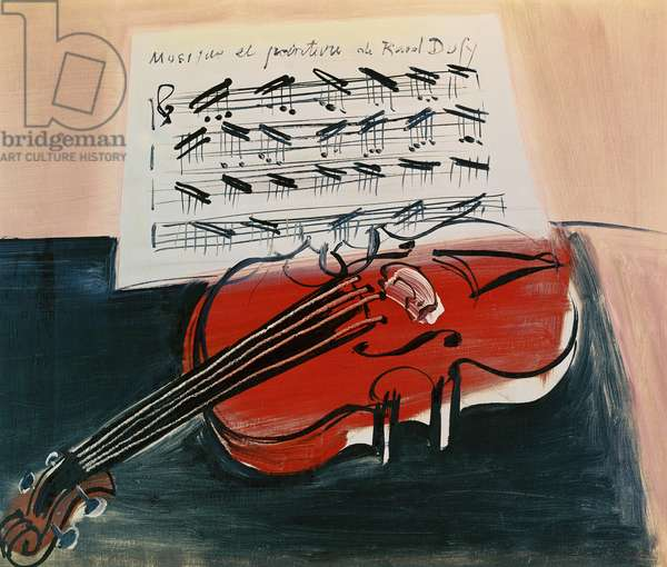 The Red Violin, c.1948 (oil on canvas)