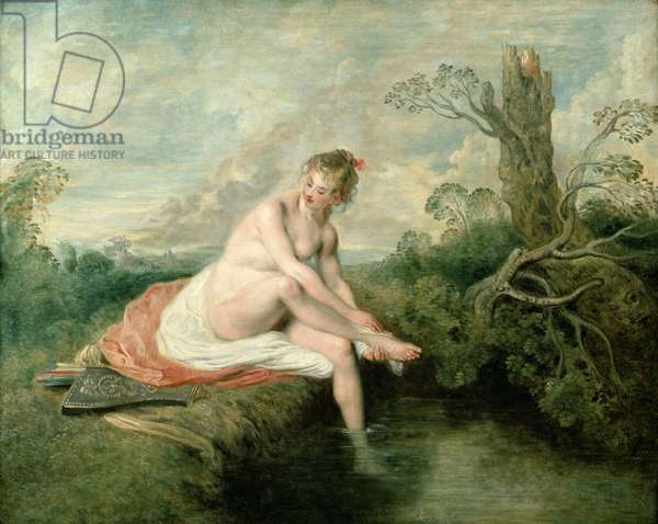 The Bath of Diana (oil on canvas)