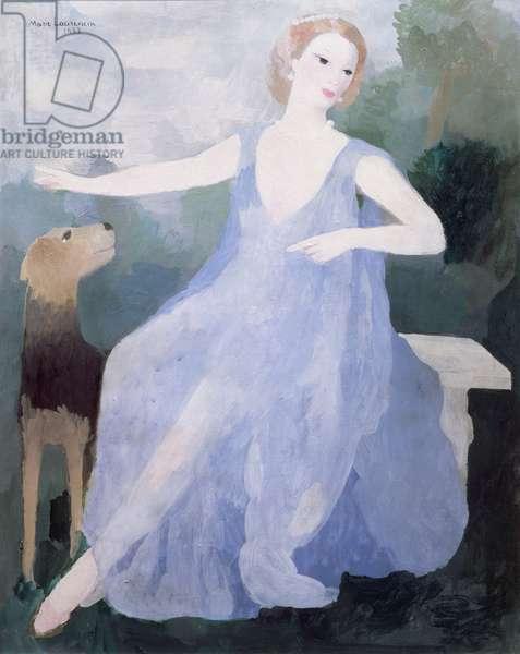 Portrait of Valentine Tessier, 1933 (oil on canvas)