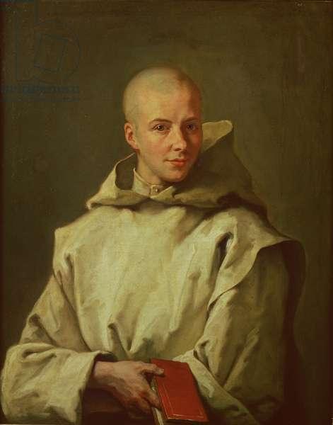 Portrait of Dom Baudouin du Basset of Gaillon, 1716 (oil on canvas)