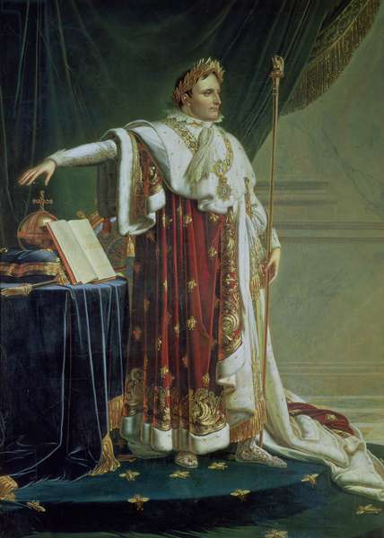 Portrait of Napoleon I in his Coronation Robes, 1804