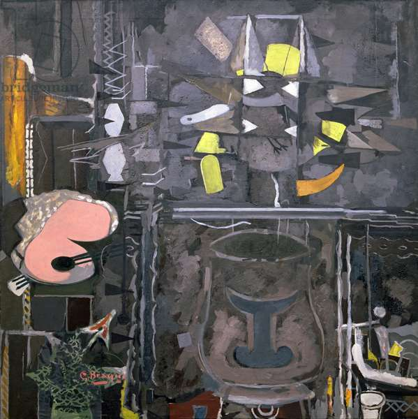 The Studio, IX (oil on canvas)