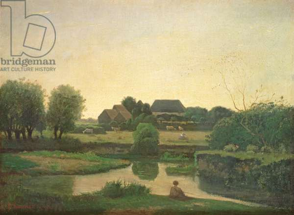 The Pond, 1853