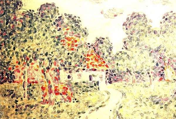 The Little Farm, 1890 (oil on canvas)