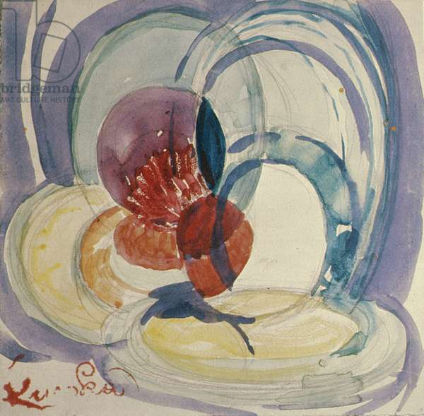 Round a Point, 1911-12 (or 1918-20) (w/c on paper)