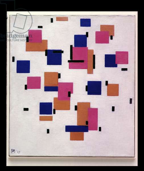Composition in Colour B, 1917 (oil on canvas)