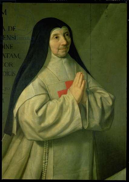 Portrait of Mother Catherine-Agnes Arnauld (1593-1671) 1662 (detail of 89736)
