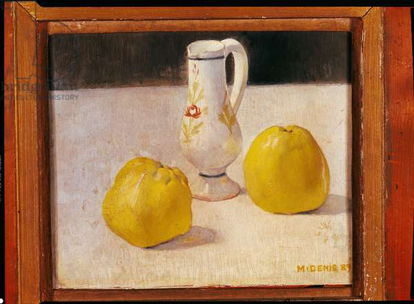 Still Life with Apples, 1889 (oil on canvas)