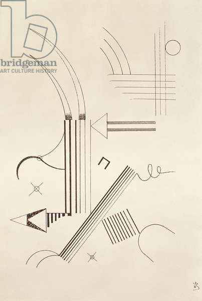 Drawing, 1933 (pen & ink on paper)