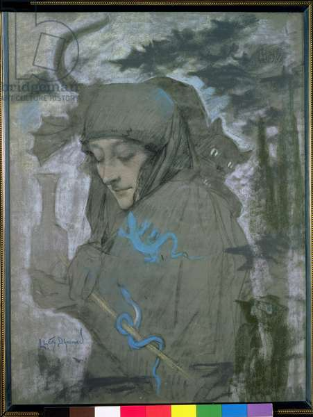 The Sorceress, 1897 (pastel on paper)