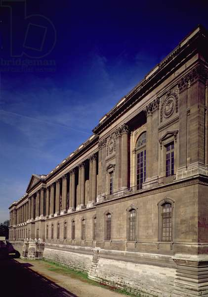 East facade, main entrance and colonnade designed by Claude Perrault (1613-88) and others, begun 1678, completed by Jacques Germain Soufflot (1713-80) 1774 (photo)