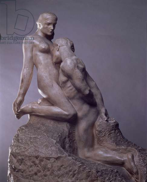 The Eternal Idol by Auguste Rodin (1840-1917), c.1889 (marble) (see also 83722)