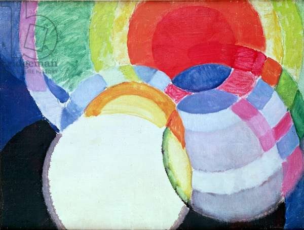 The Discs, 1911-12 (oil on canvas)
